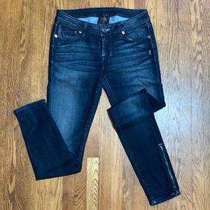 Genetic Denim James Recessive Zipper Skinny Jeans